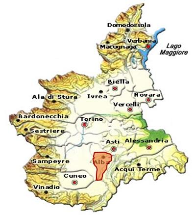 Alba DOC area