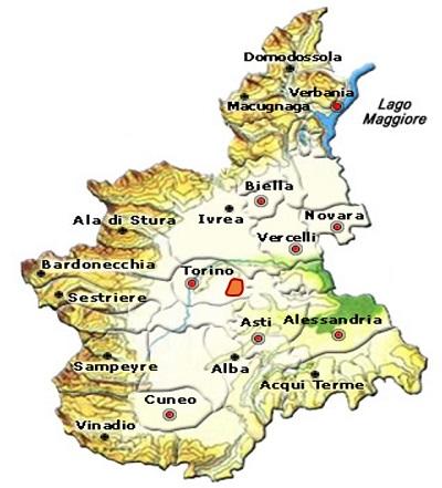 Albugnano DOC area