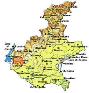 Amarone della Valpolicella DOCG area