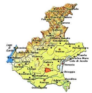 Bagnoli Friularo DOCG area