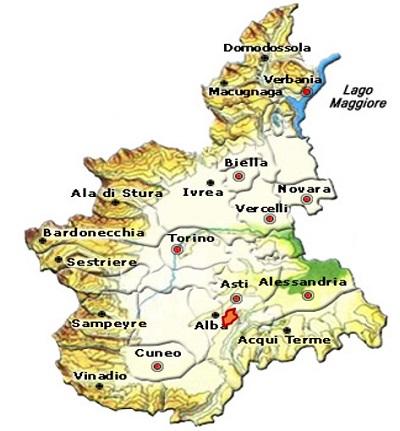 Barbaresco DOCG area