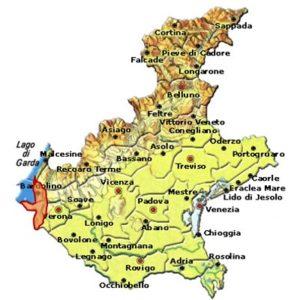 Bardolino Superiore DOCG area