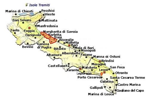 Barletta DOC area