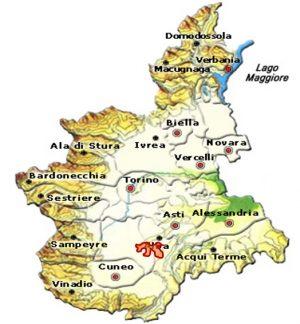 Barolo DOCG area