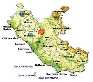 Bianco Capena DOC area