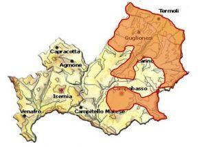 Biferno DOC area