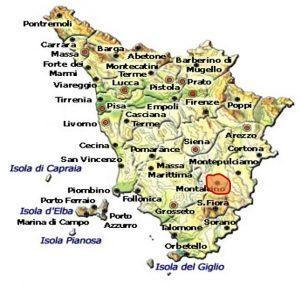 Brunello di Montalcino DOCG area