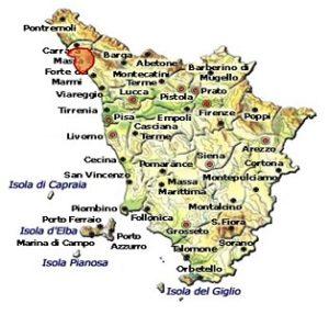 Candia dei Colli Apuani DOC area