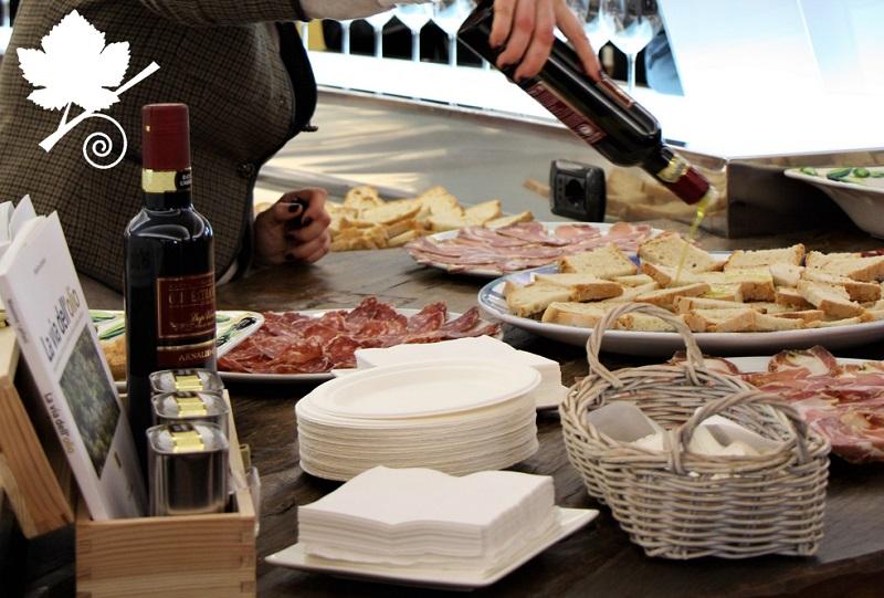 Cantina Arnaldo Caprai - degustazione prodotti locali