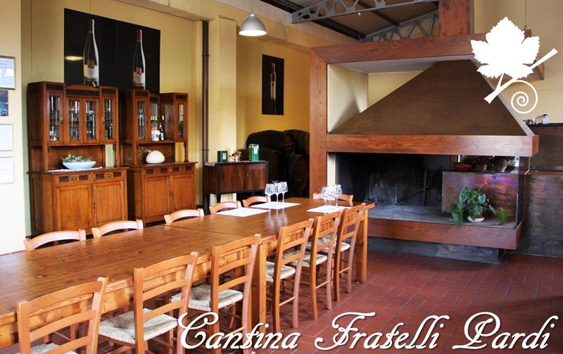 Cantina Fratelli Pardi - Sala degustazione