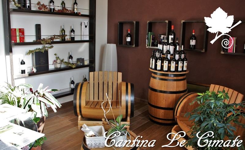 Cantina Le Cimate - centro vendita