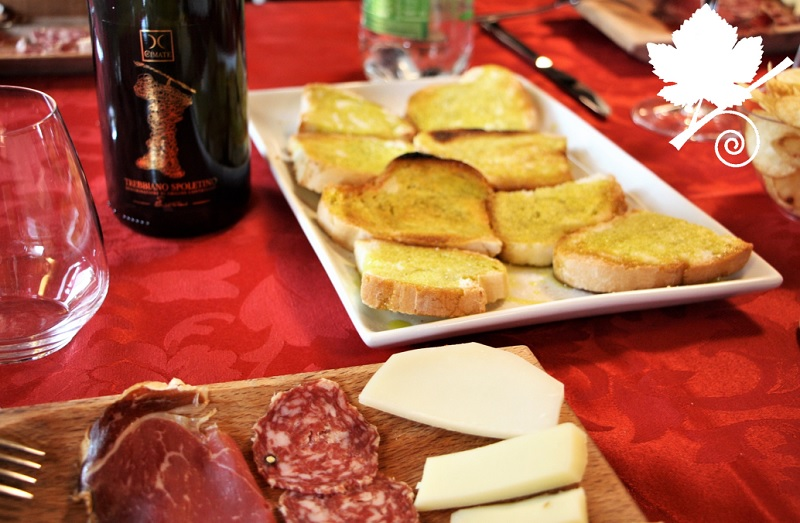 Cantina Le Cimate - degustazione prodotti tipici