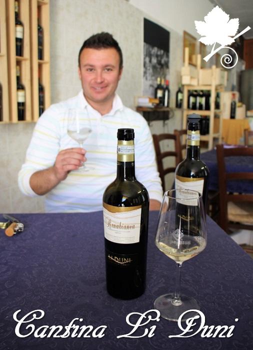 Cantina Li Duni - il proprietario Francesco