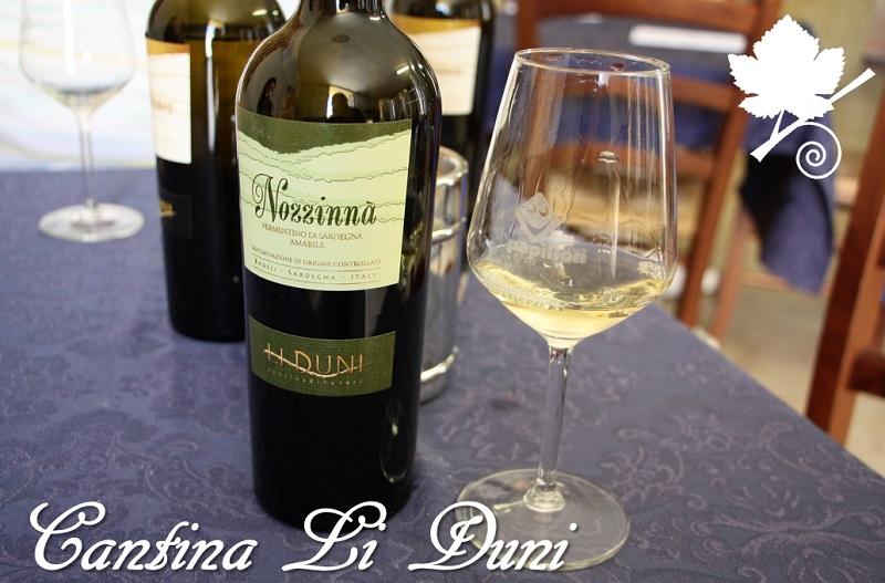 Cantina Li duni Nozzinnà Vermentino di Sardegna DOC amabile