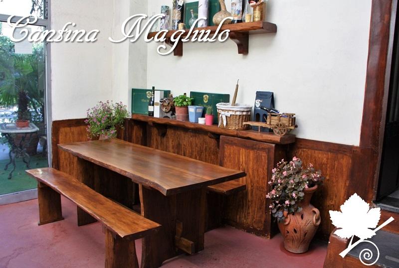 Cantina Magliulo - Sala degustazione