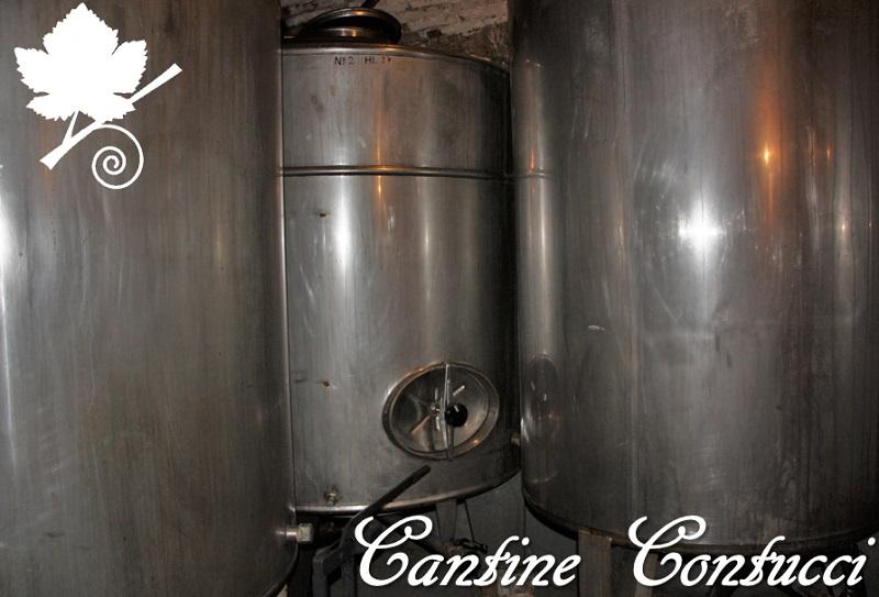 Cantine Contucci - silos in acciaio