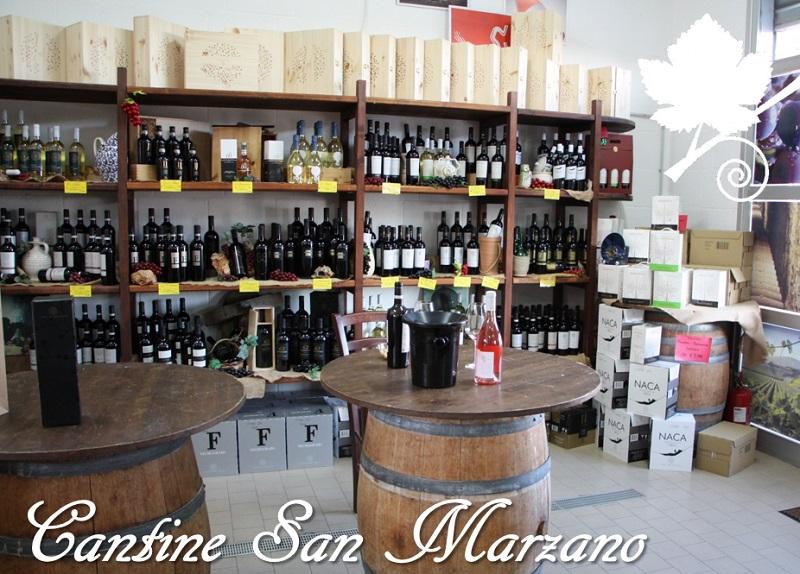 Cantine San Marzano - punto vendita
