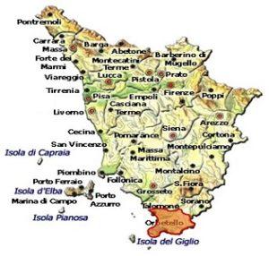 Capalbio DOC area