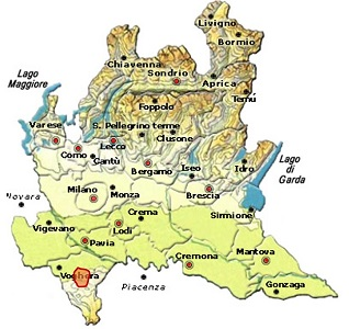 Casteggio DOC area