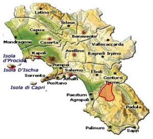 Castel San Lorenzo DOC area