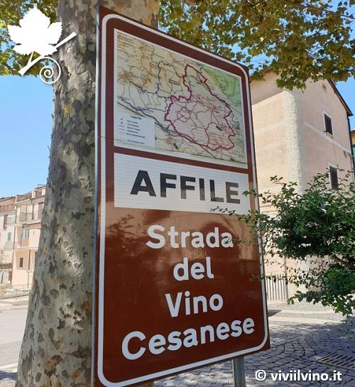 Cesanese di Affile DOC - Strada del vino cesanese