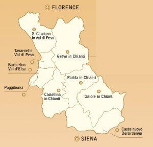 Chianti Classico DOCG - area 2