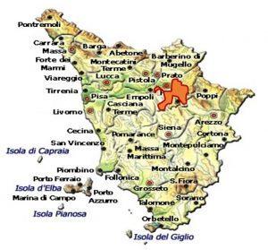 Chianti Colli Fiorentini DOCG area