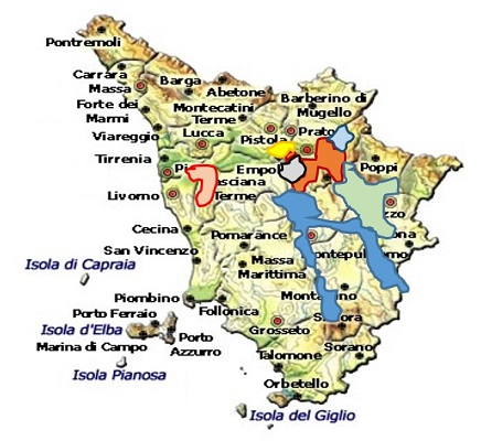 Chianti DOCG area