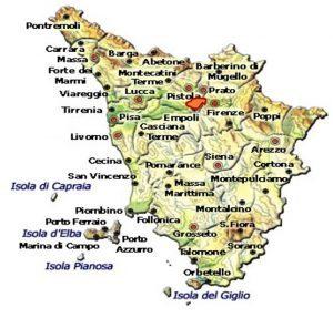 Chianti Montalbano DOCG area