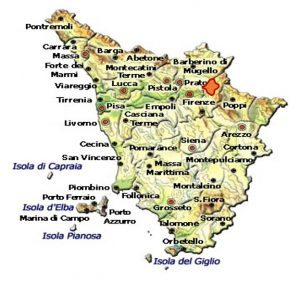 Chianti Rufina DOCG area
