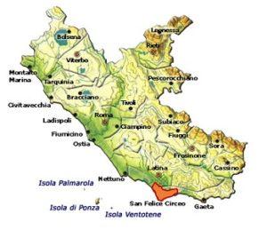 Circeo DOC area