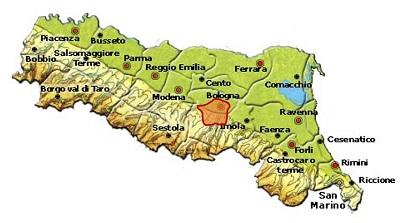 Colli Bolognesi DOC area