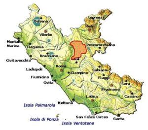 Colli Della Sabina DOC area