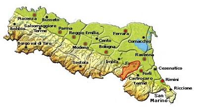 Colli di Faenza DOC area