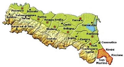 Colli di Rimini DOC area