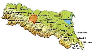 Colli di Scandiano e di Canossa DOC area