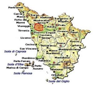 Colline Lucchesi DOC area