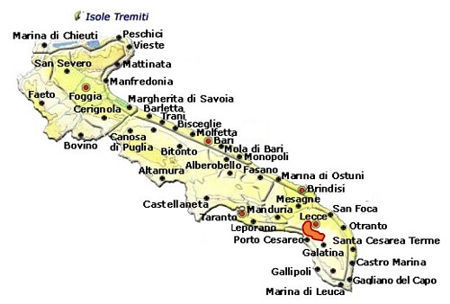 Copertino DOC area