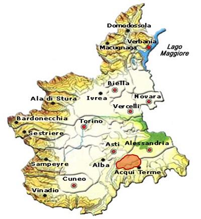 Cortese dell'Alto Monferrato DOC area
