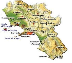 Costa d'Amalfi DOC area
