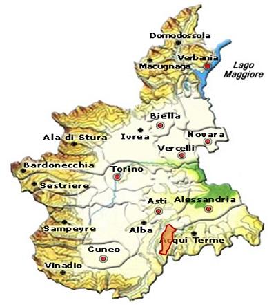 Dolcetto d'Asti DOC area