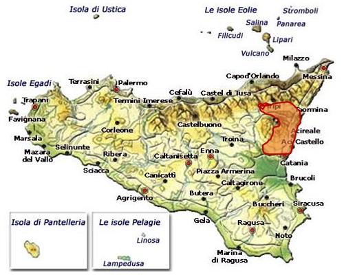 Etna DOC area