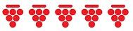 FIS Bibenda 5 grappoli punteggio vino da 91 a 100