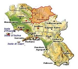Falanghina del Sannio DOC area