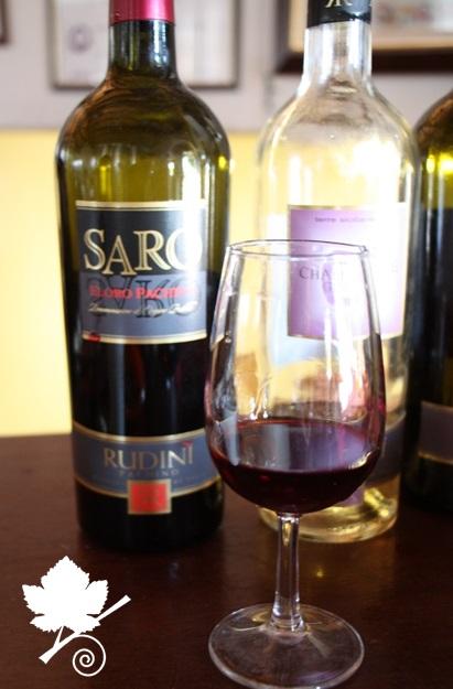 Feudo Rudinì - Saro degustazione vino