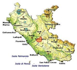 Frascati Superiore DOCG area