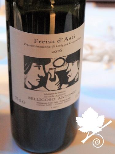 Freisa d'Asti DOC - Bellicoso Antonio