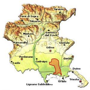 Friuli Aquileia DOC area