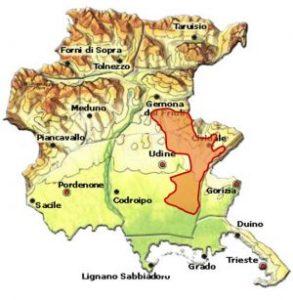 Friuli Colli Orientali DOC area