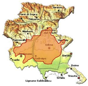 Friuli Grave DOC area